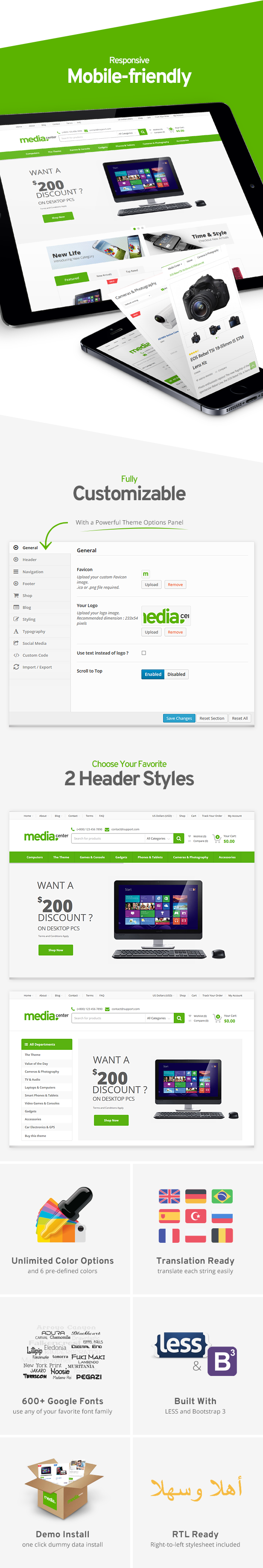 MediaCenter - Electronics Store WooCommerce Theme - 10