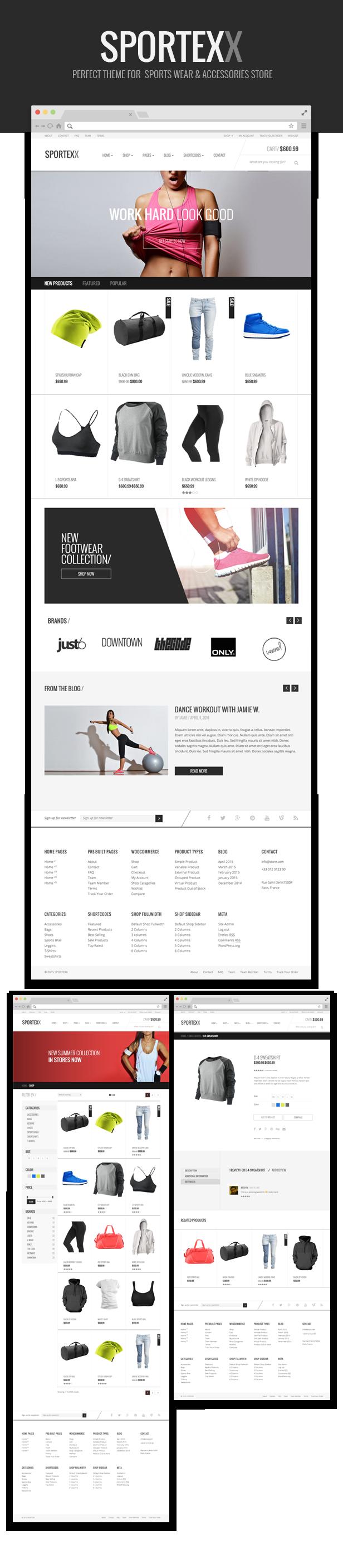 Sportexx - Sports & Gym Fashion WooCommerce Theme - 6