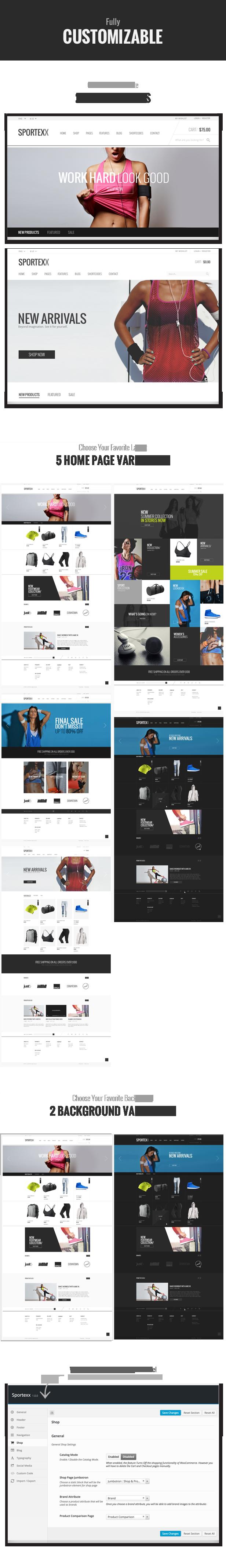 Sportexx - Sports & Gym Fashion WooCommerce Theme - 7