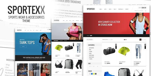 Sportexx - Sports & Gym Fashion WooCommerce Theme - 1
