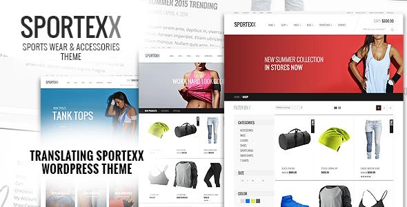 Sportexx - Sports & Gym Fashion WooCommerce Theme - 2