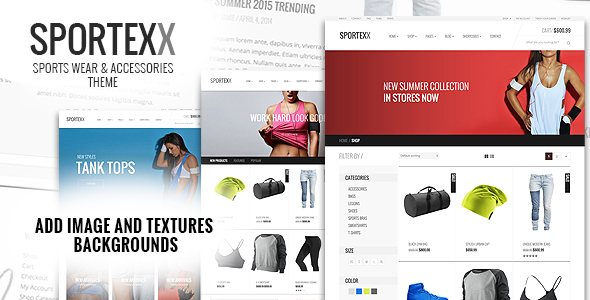 Sportexx - Sports & Gym Fashion WooCommerce Theme - 3