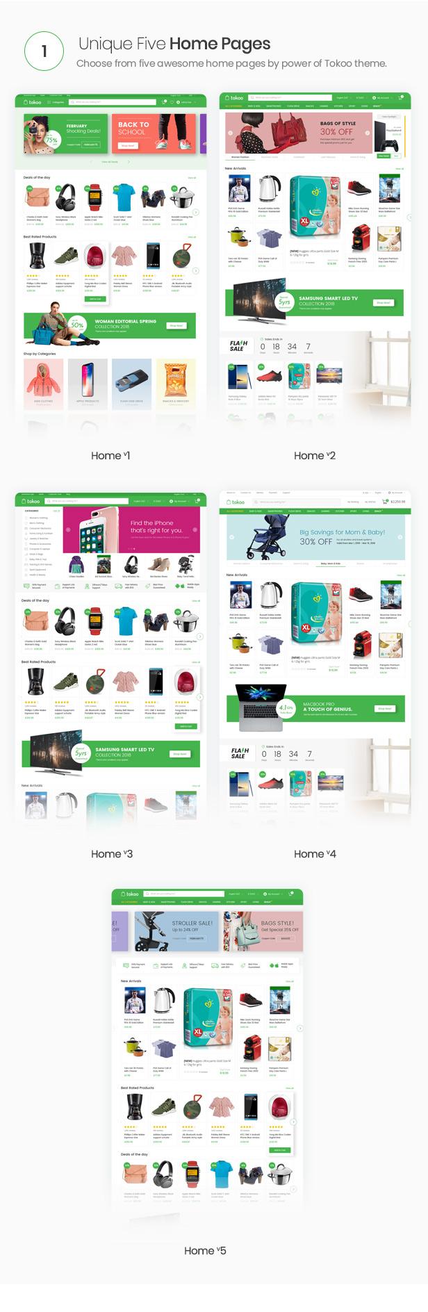 Tokoo - Electronics Store WooCommerce Theme