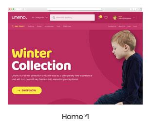 Uneno - Kids Clothing & Toys Store WooCommerce Theme - 6