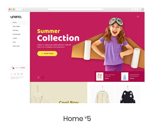 Uneno - Kids Clothing & Toys Store WooCommerce Theme - 8