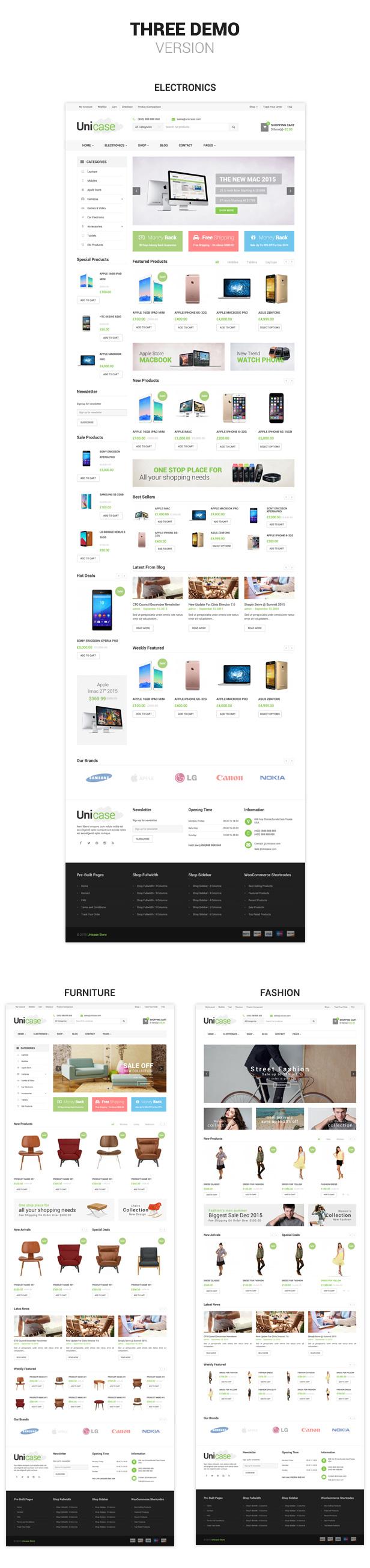 Unicase - Electronics Store WooCommerce Theme - 2